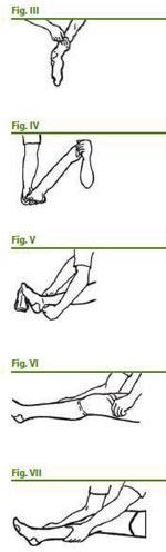 طرز پوشیدن جوراب امبولی