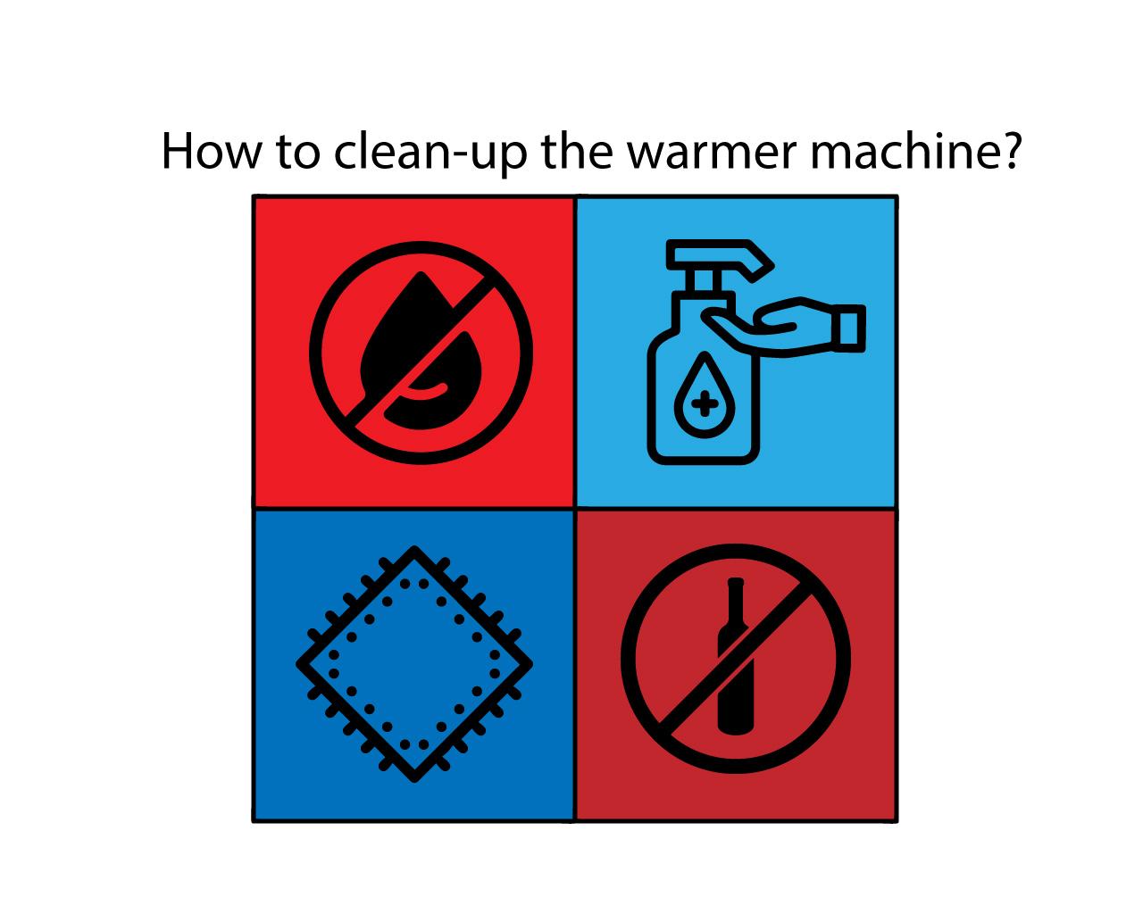 تمیز کردن وارمر
