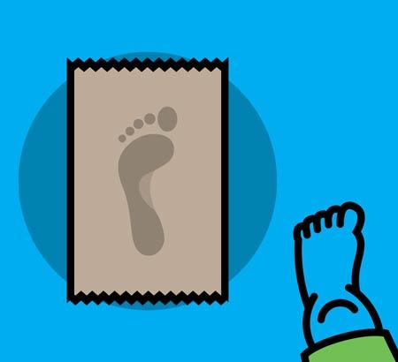 قوس کف پای طبیعی
